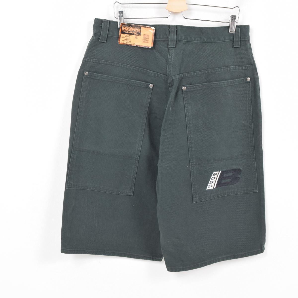 3be6a09f Men w37 /war9811 made in dead stock DEADSTOCK boss BOSS color denim shorts  short pants USA