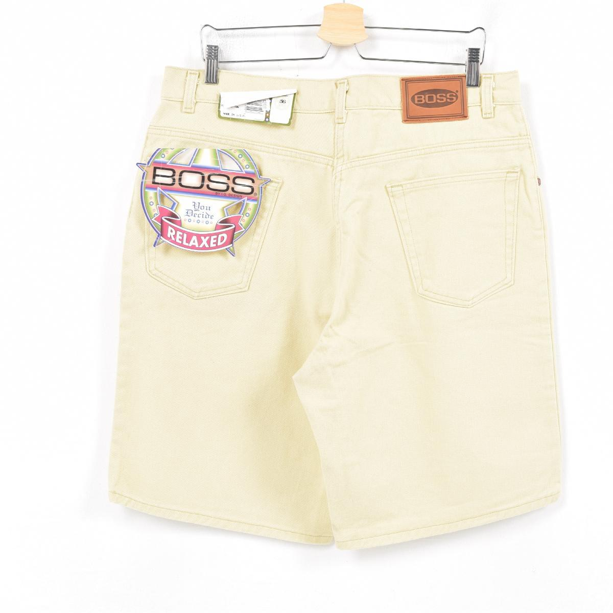 b8441577 Men w36 /war9812 made in boss BOSS color denim shorts short pants USA with  the dead stock DEADSTOCK flasher