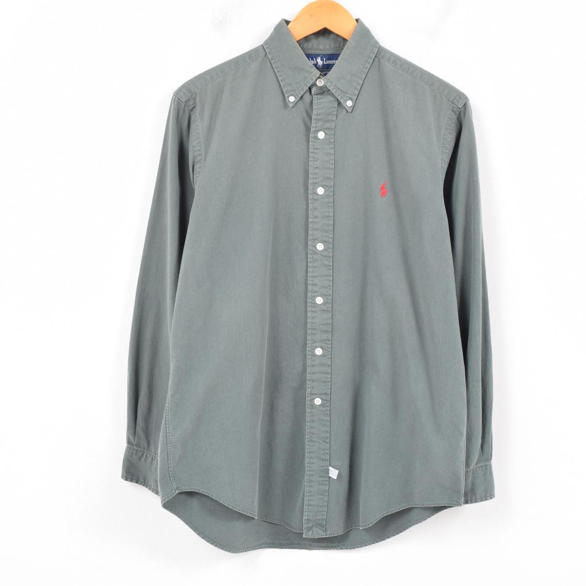 f203d2f4 90s Ralph Lauren Ralph Lauren long sleeves button-down shirt men XL  /war9956 ...