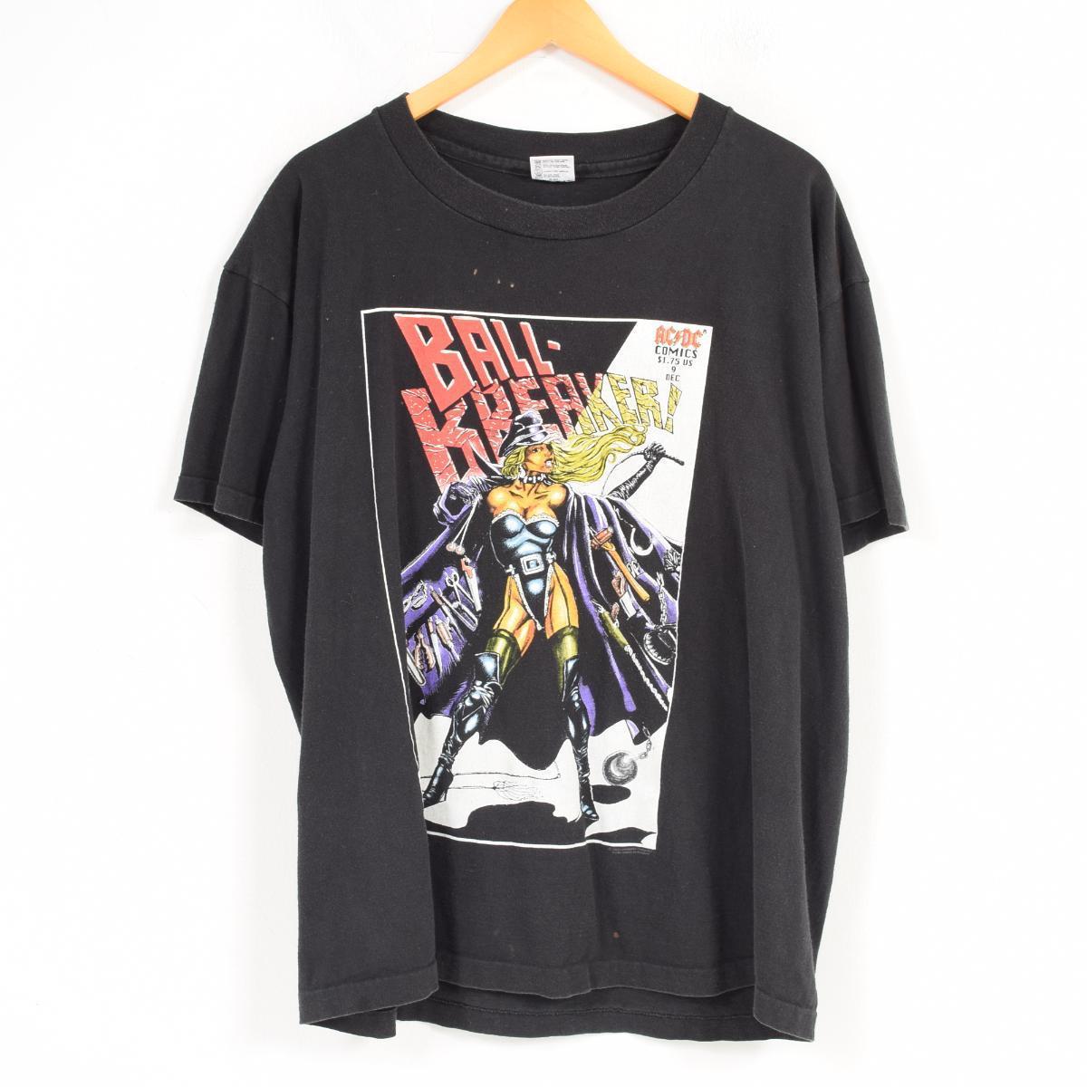 90年代 アンビル anvil AC/DC エーシーディーシー BALL-BREAKER バンドTシャツ USA製 メンズXL /waq9993 【中古】 【180518】