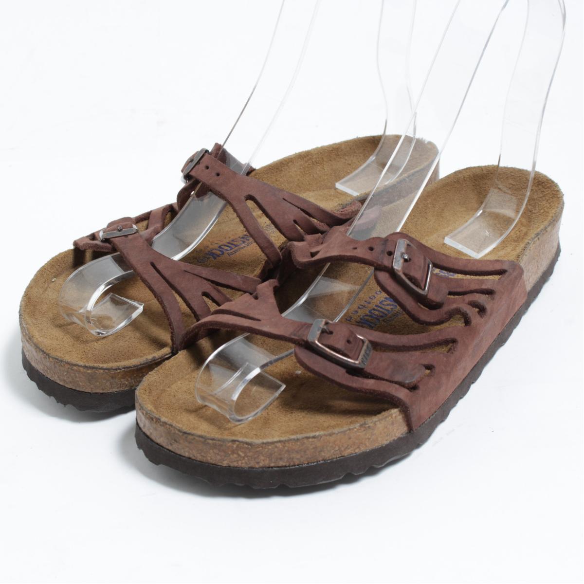 8ab40503770d ビルケンシュトック BIRKENSTOCK Granada Soft Footbed comfort sandals 39 men s 25.0cm   bon0680