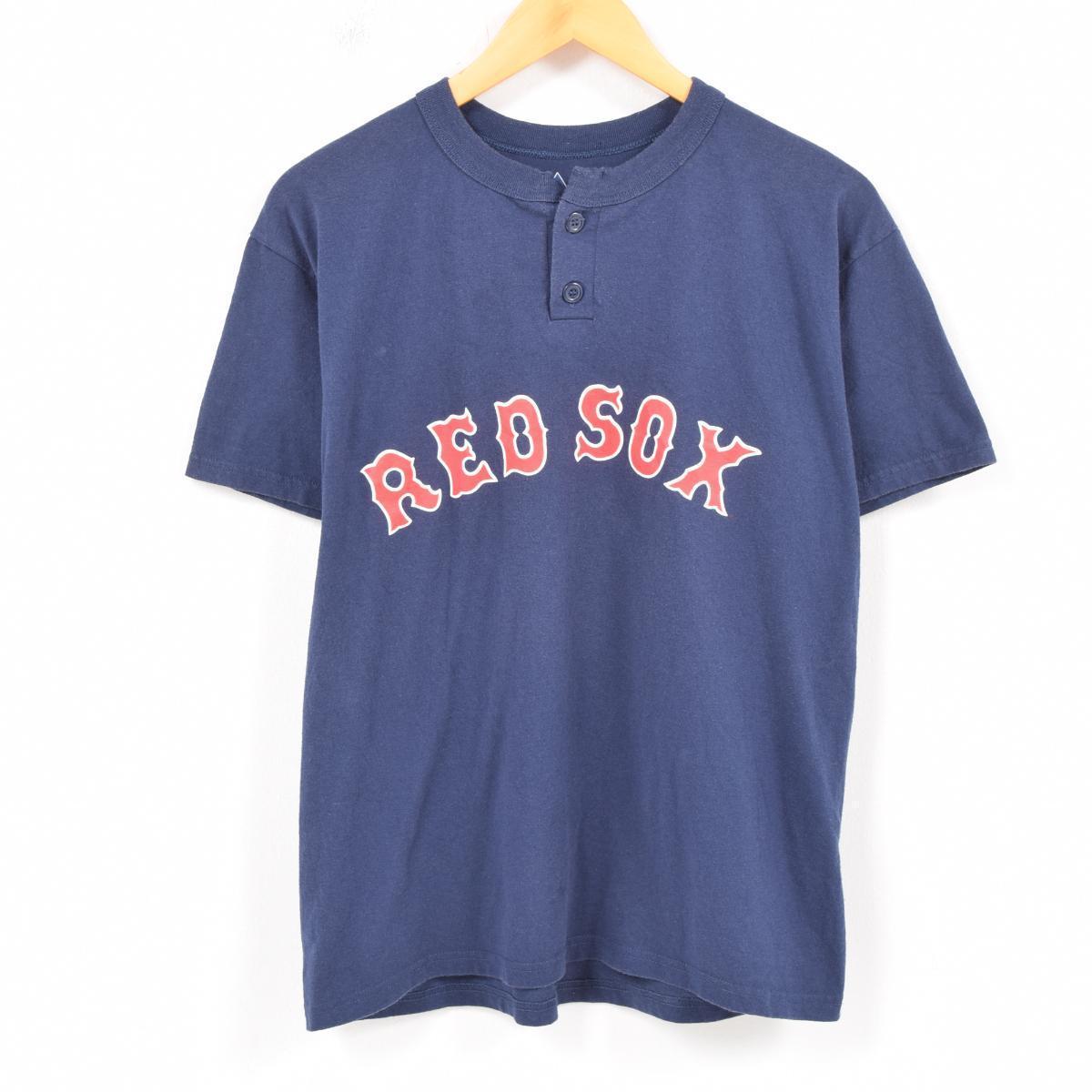 3df7f1c37 Majestic majestic MLB BOSTON RED SOX Boston Red Sox baseball T-shirt men L   wat5777