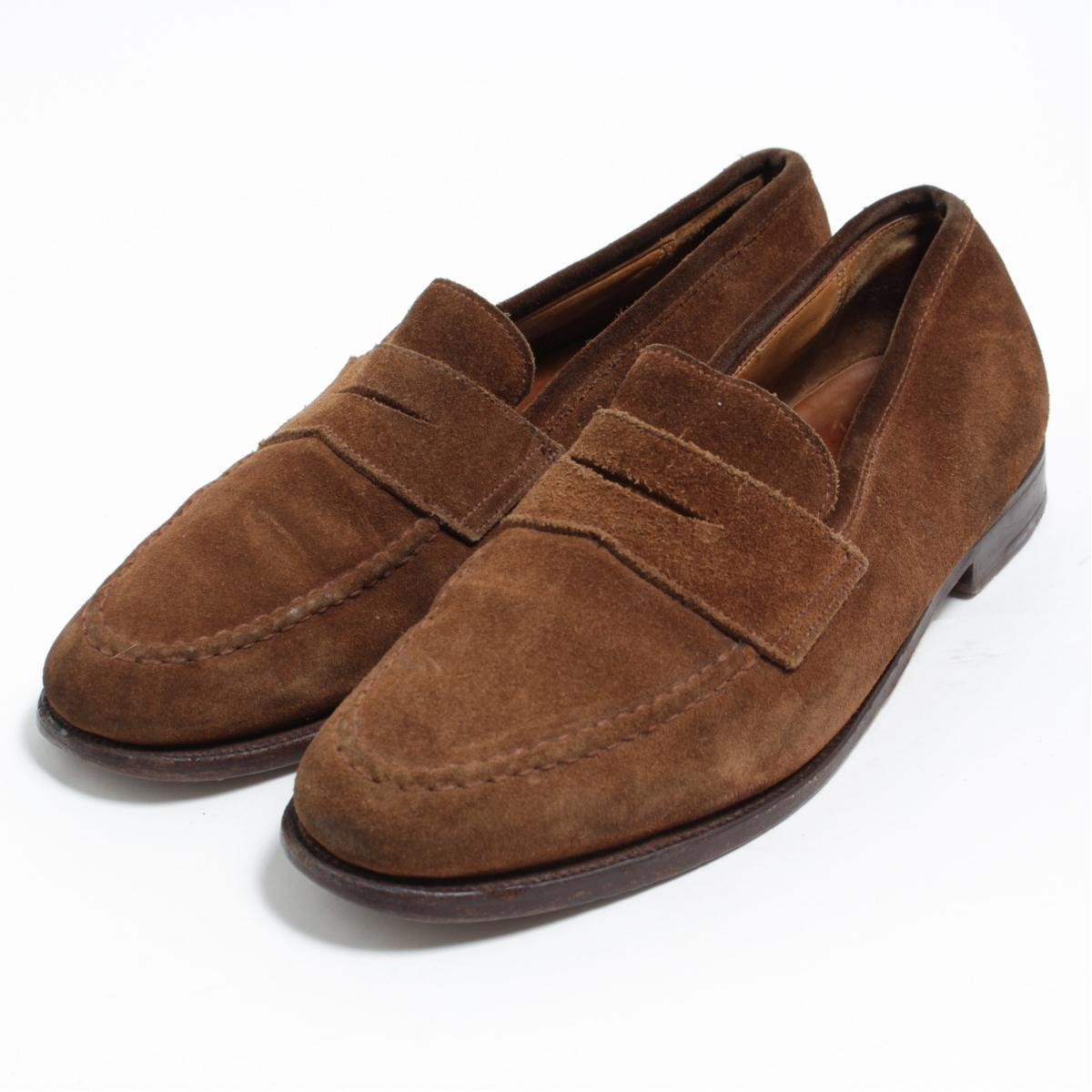 d0161a8cdf7f6 8.5D men 26.5cm  bon0275 made in the Brooks Brothers Brooks Brothers  PEAL Co penny loafers U.K.