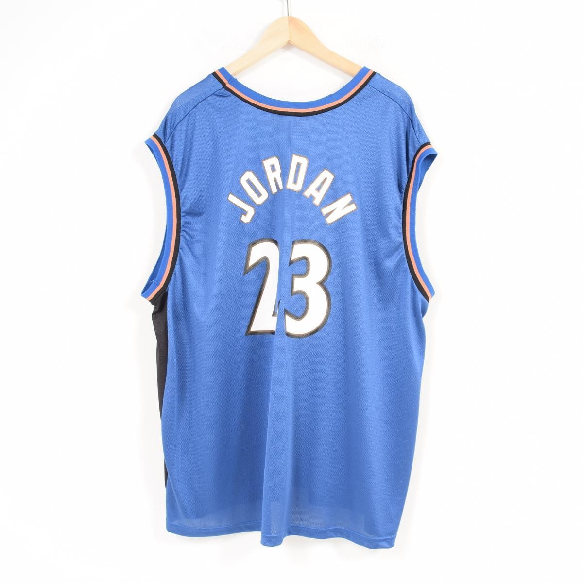 san francisco 6e4c1 31b9f Champion Champion NBA WASHINGTON WIZARDS Washington Wizards MICHAEL JORDAN  Michael Jordan game shirt replica uniform men XXL /wau6779