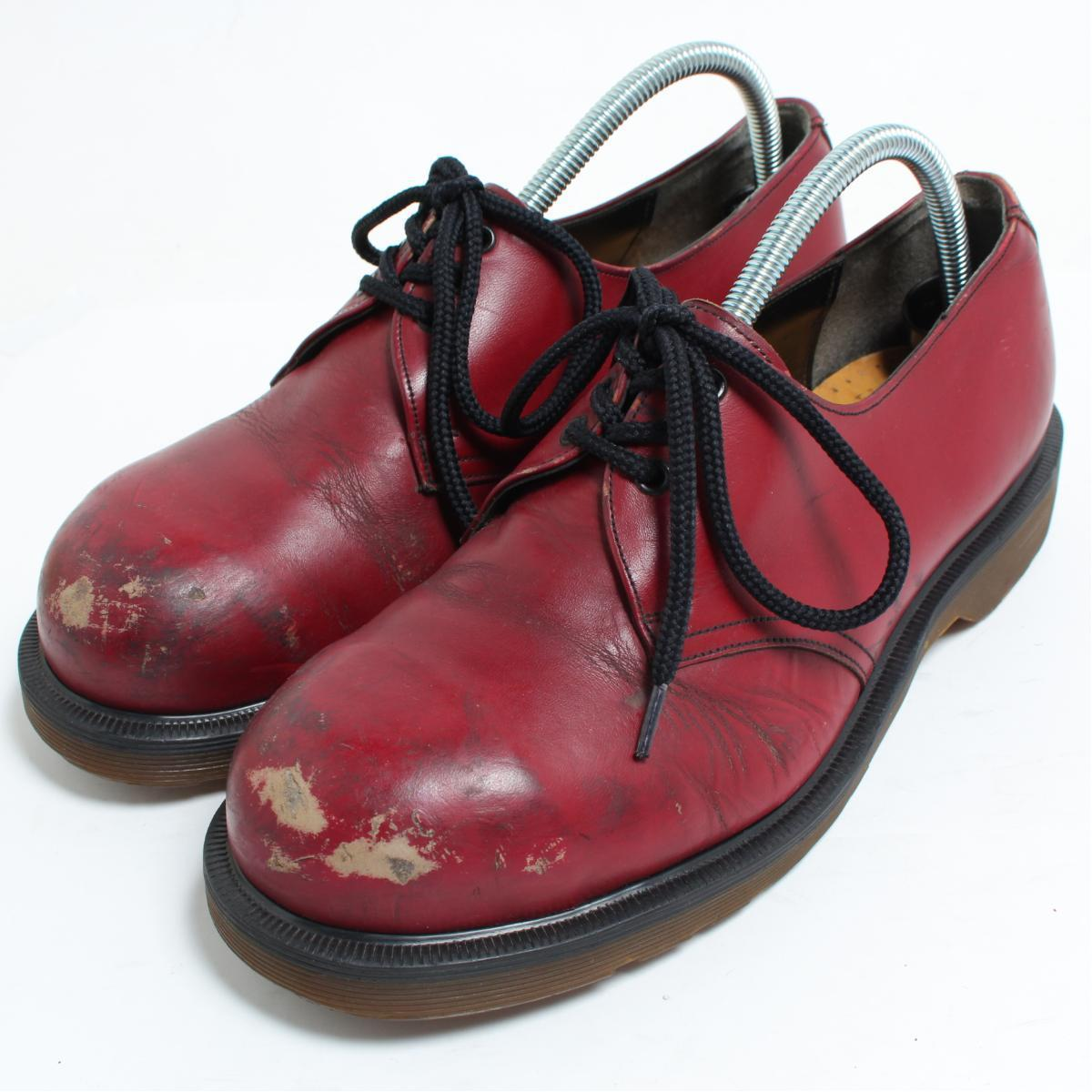 9356ac10a595 UK9 men 27.5cm  bon0814 made in the doctor Martin Dr.Martens SKECHERS  collaboration 3 hall shoes U.K.