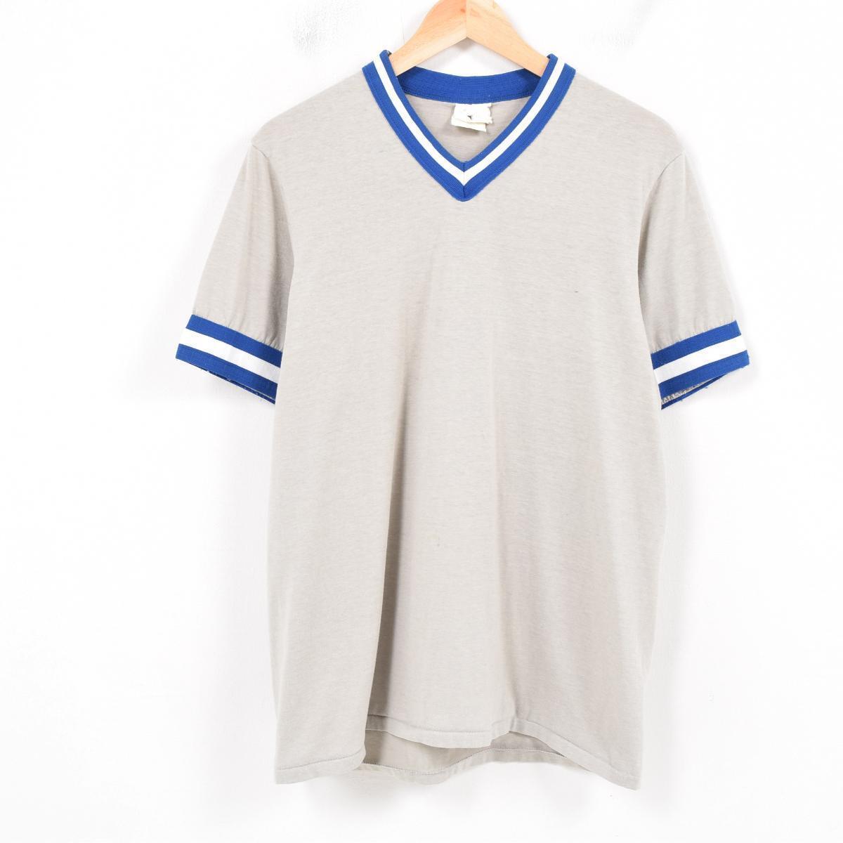 5d1fd85ca Men M Wat6171 Made In Majestic Majestic V Neck Ringer T Shirt Usa. Vine  Clothing Jam Men M Wat6171 Made In Majestic Majestic V