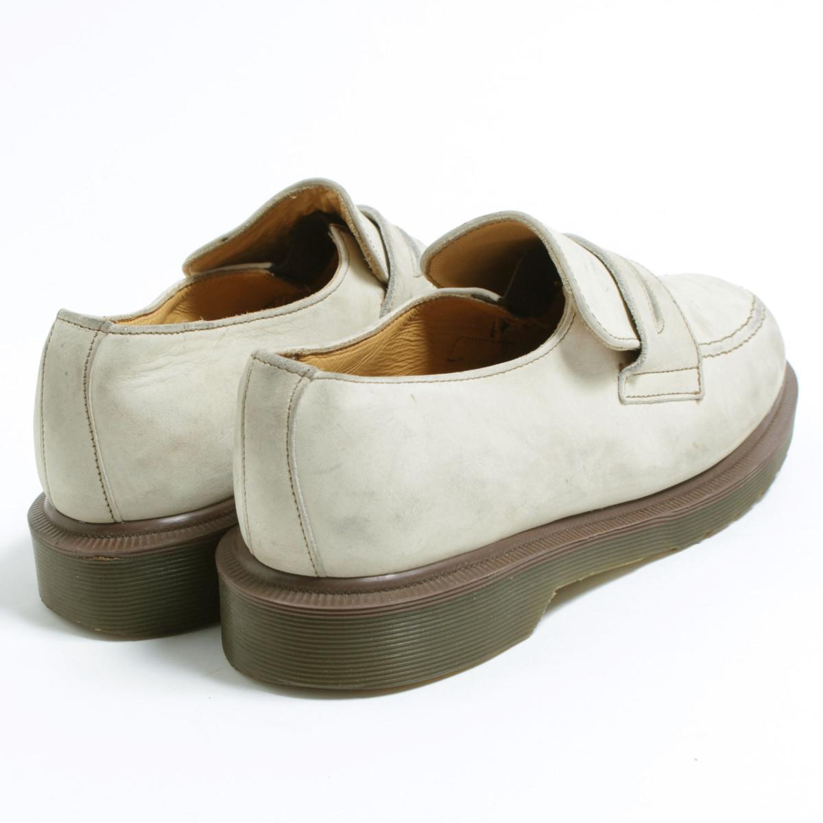 UK7 men 25.5cm /bon1648 made in the doctor Martin Dr.Martens penny loafers U.K.