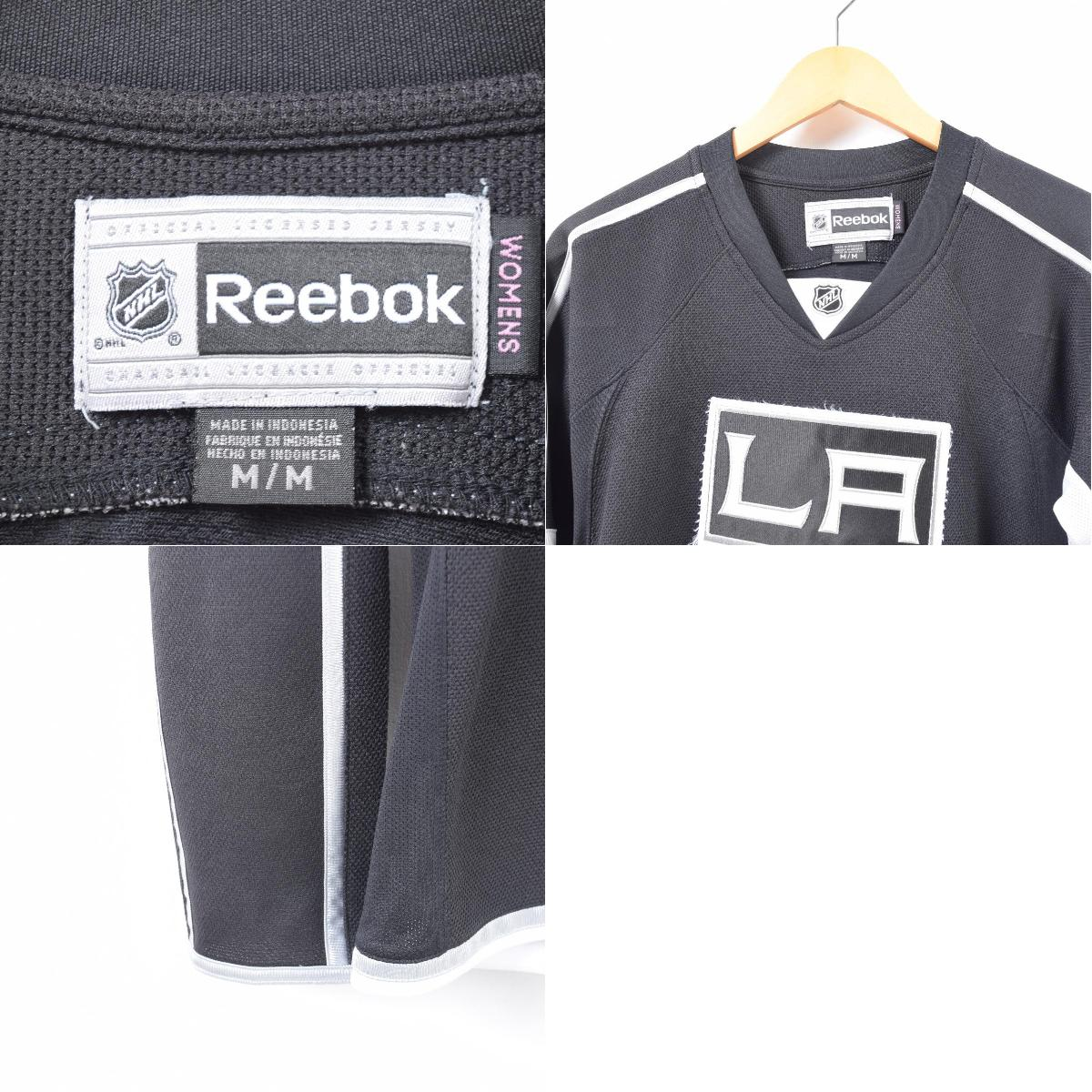 d5e666230 Reebok Reebok NHL LOS ANGELES KINGS Los Angeles Kings game shirt replica  uniform Lady s M  waq7205