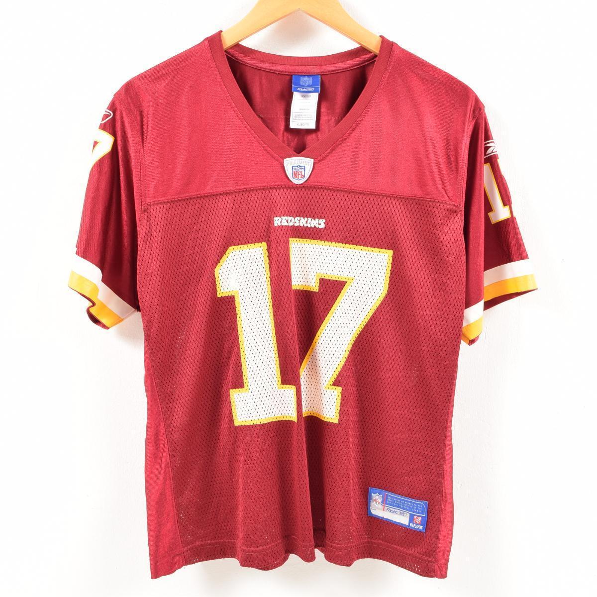 new style 5c074 ff0ab Reebok Reebok NFL WASHINGTON REDSKINS Washington Redskins mesh game shirt  replica uniform men XS /was7100