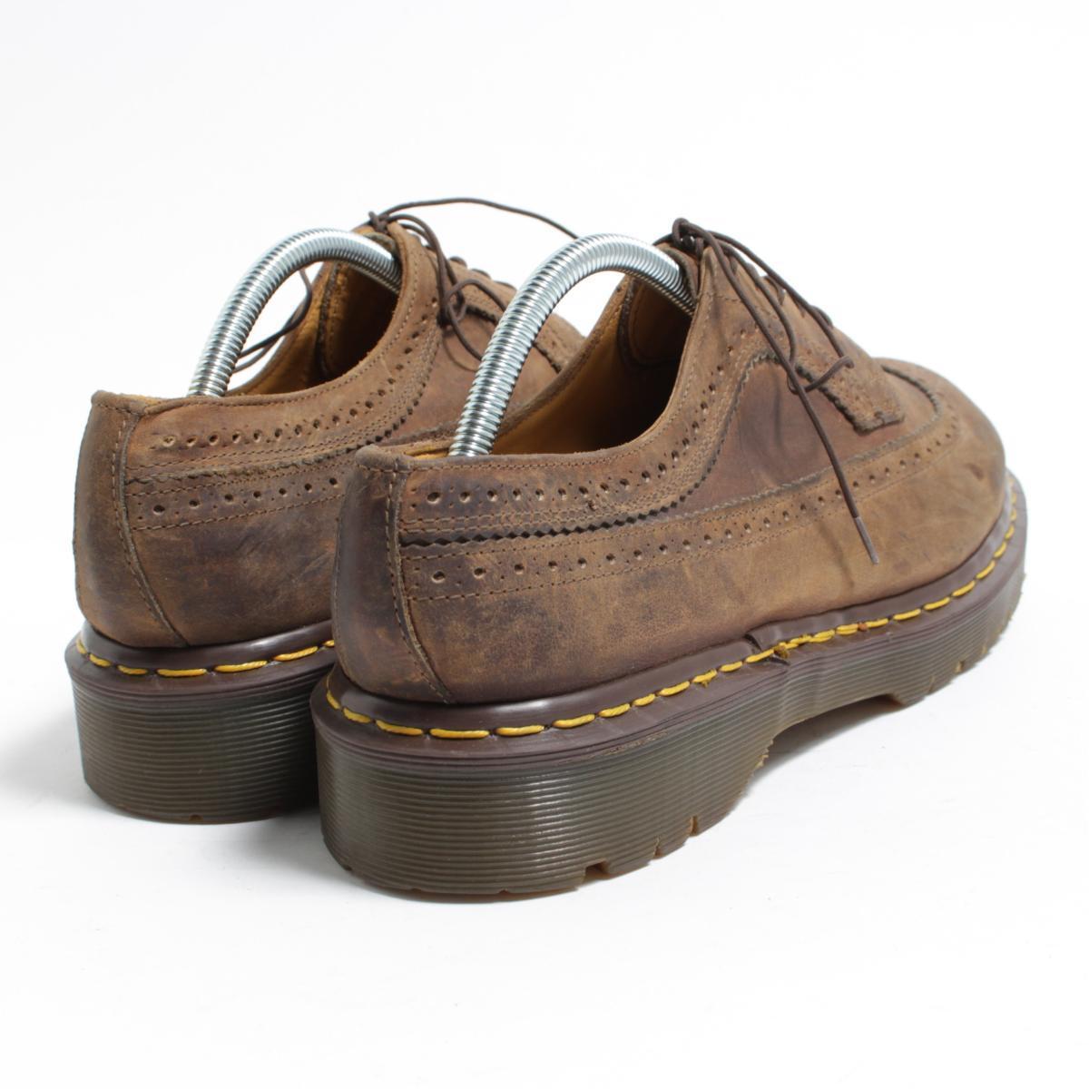 UK10 men 28.5cm /bon1123 made in the doctor Martin Dr.Martens wing tip shoes U.K.