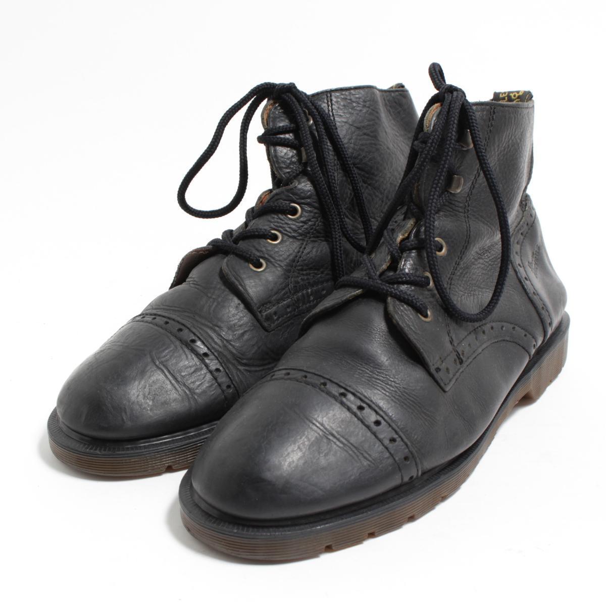 ドクターマーチン Dr.Martens 5ホールブーツ 英国製 UK11 メンズ29.5cm /bon0211 【中古】【古着屋JAM】 【180619】