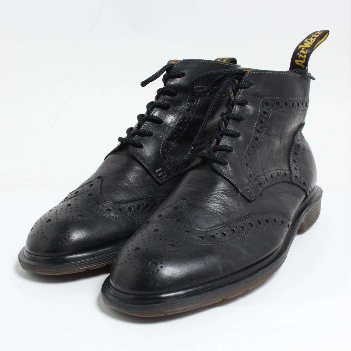 ドクターマーチン Dr.Martens ウイングチップブーツ 英国製 UK9 メンズ27.5cm /bon1463 【中古】【古着屋JAM】 【180619】