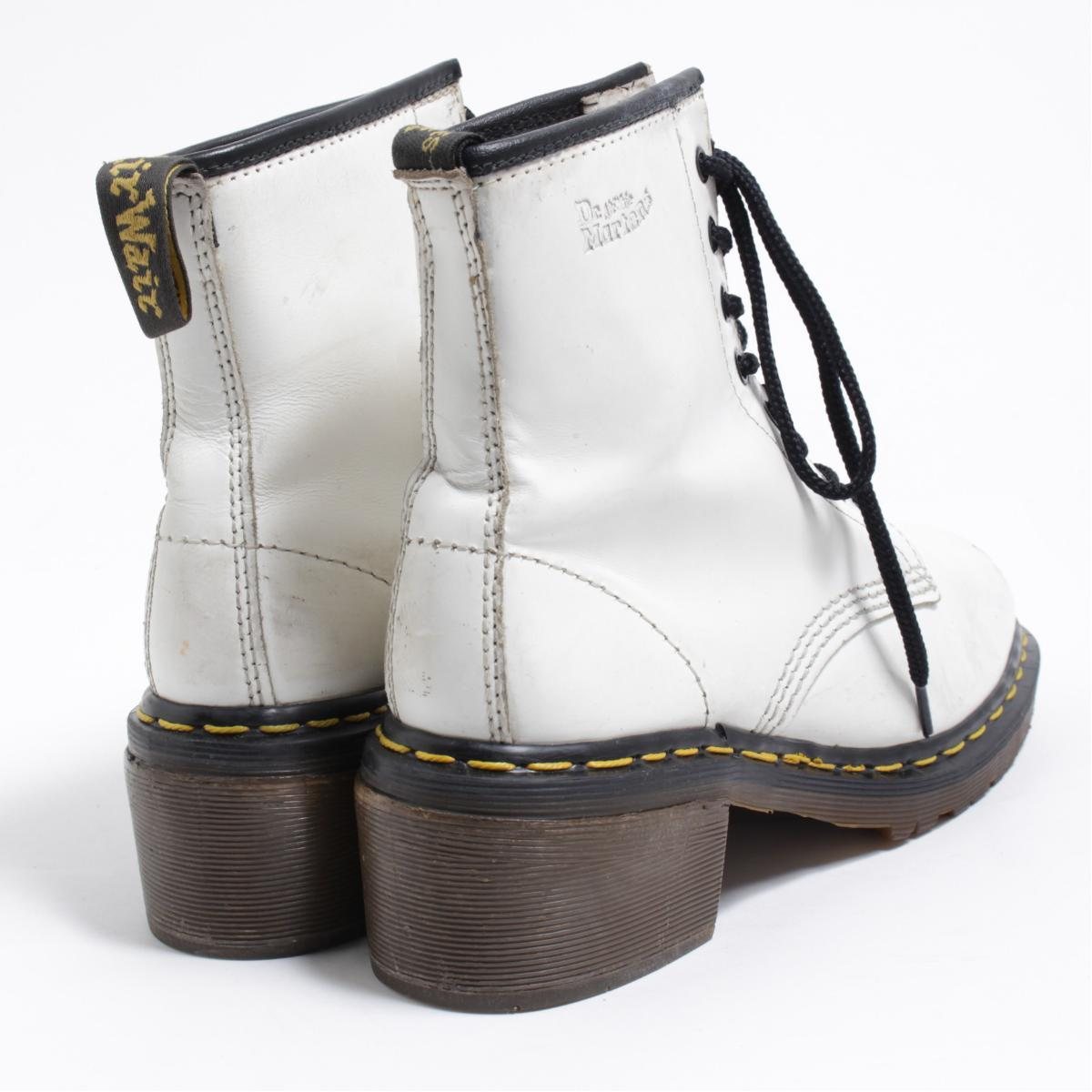 UK6 Lady's 24.5cm /bon0858 made in the doctor Martin Dr.Martens high-heeled shoes 8 hall boots U.K.