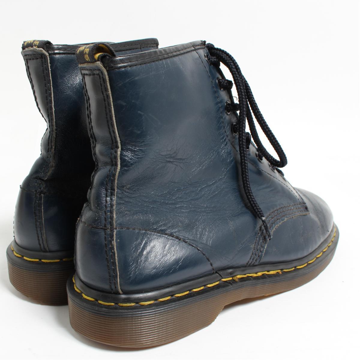 UK7 men 25.5cm /bon0090 made in the doctor Martin Dr.Martens 8 hall boots U.K.
