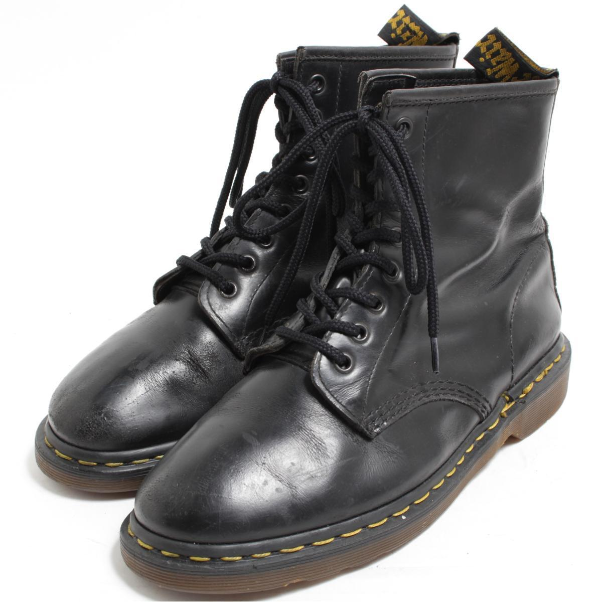 ドクターマーチン Dr.Martens 8ホールブーツ 英国製 UK8 メンズ26.5cm /bom9588 【中古】【古着屋JAM】 【180624】