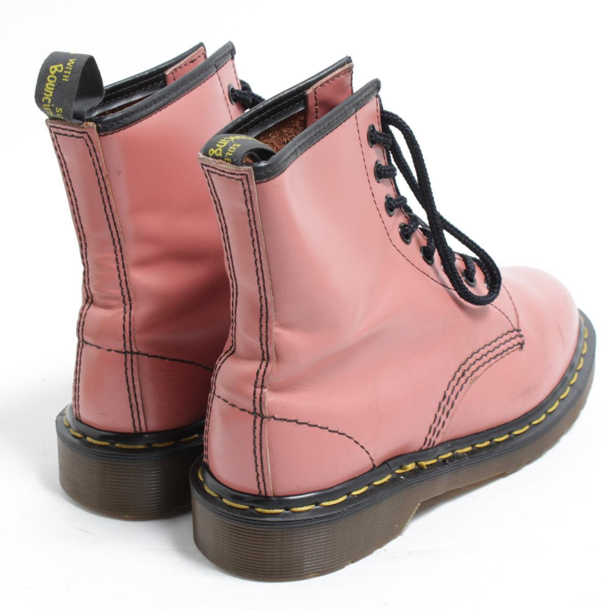 UK5 Lady's 23.5cm /bom9628 made in the doctor Martin Dr.Martens 8 hall boots U.K.