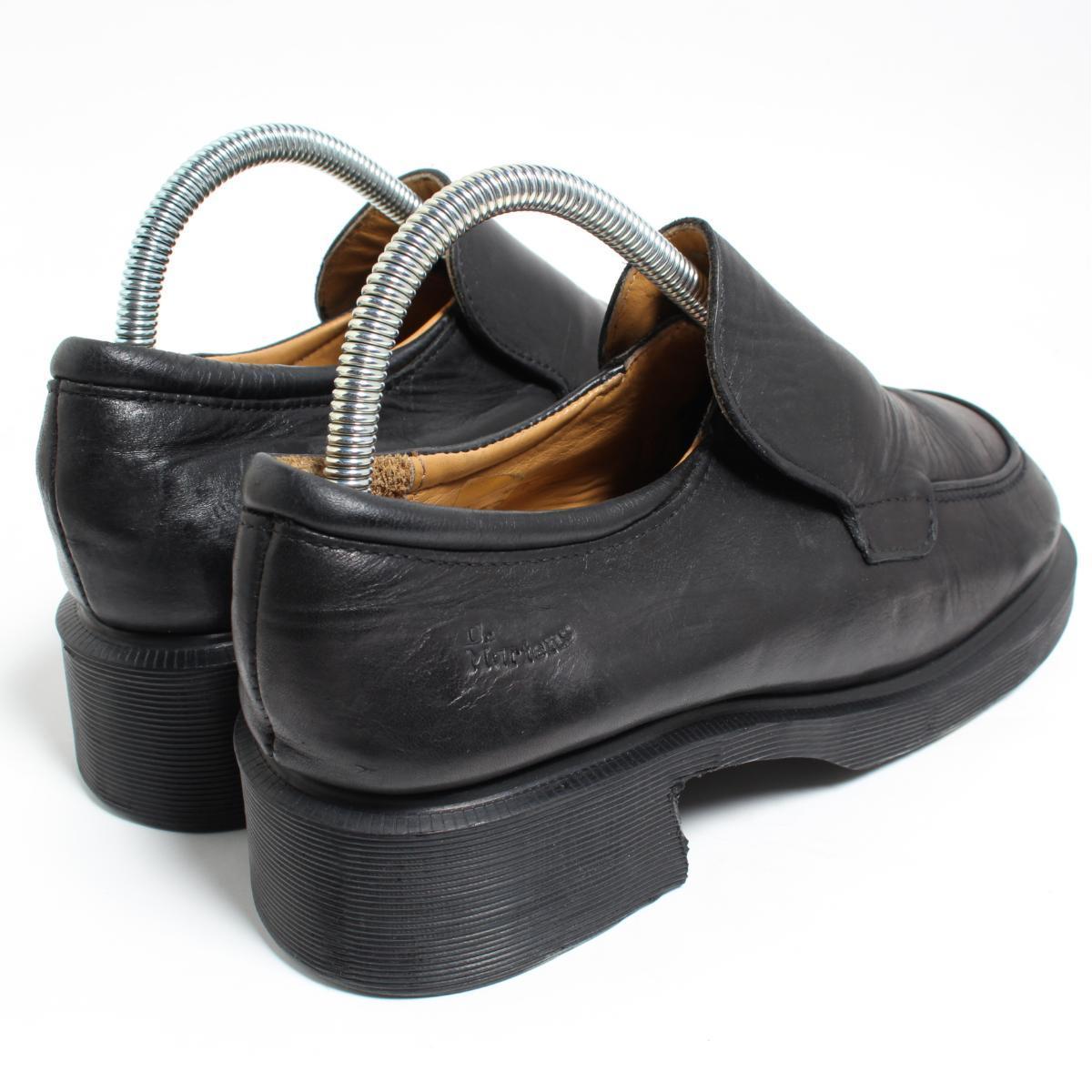 UK7 men 25.5cm /bon1076 made in the doctor Martin Dr.Martens slip-on shoes U.K.