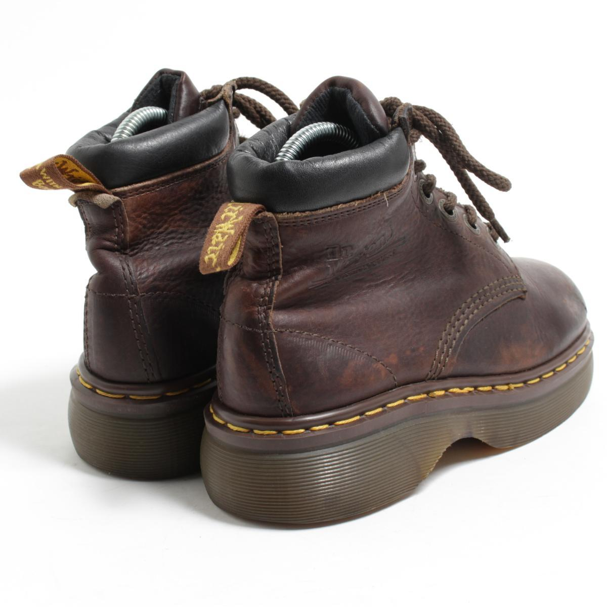 Lady's 22.5cm /bom9349 made in the doctor Martin Dr.Martens 6 hall boots U.K.