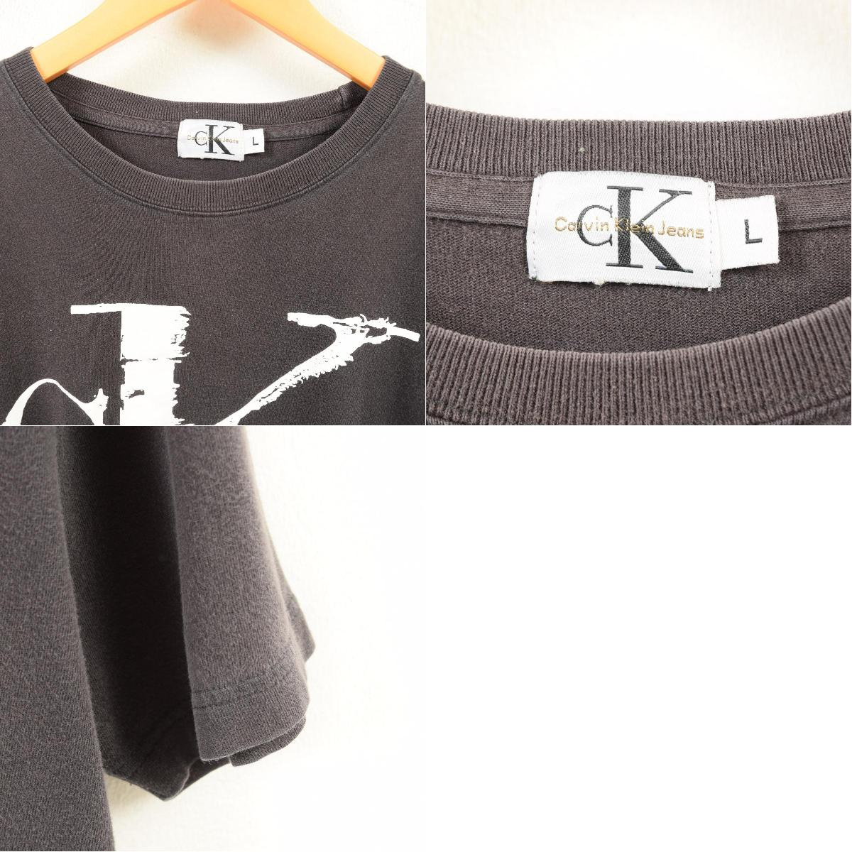 45a6c29a1 VINTAGE CLOTHING JAM: 90s Calvin Klein Calvin klein JEANS logo T ...