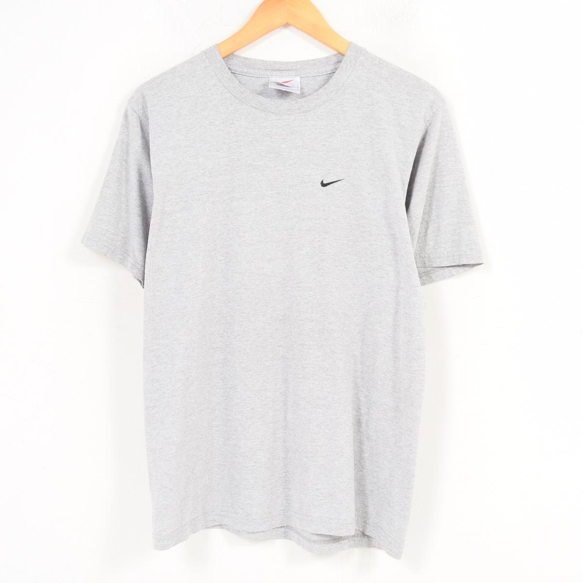 6181b966 VINTAGE CLOTHING JAM: 90s Nike NIKE one point logo T-shirt men M ...
