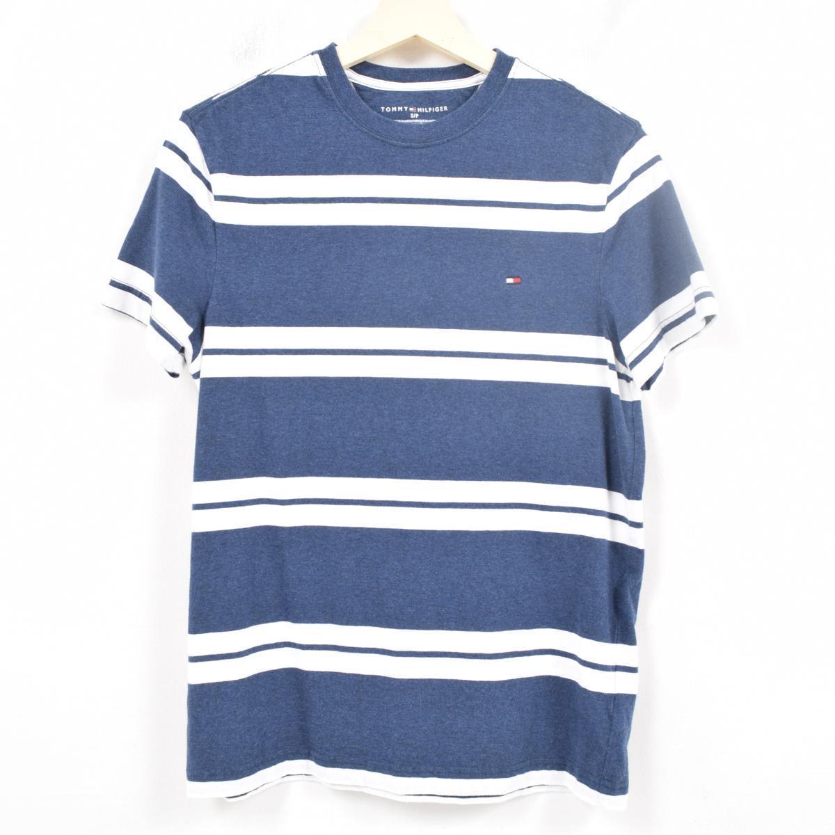 d800df7cae トミーヒルフィガー TOMMY HILFIGER horizontal stripe T-shirt men S /wap8798 ...