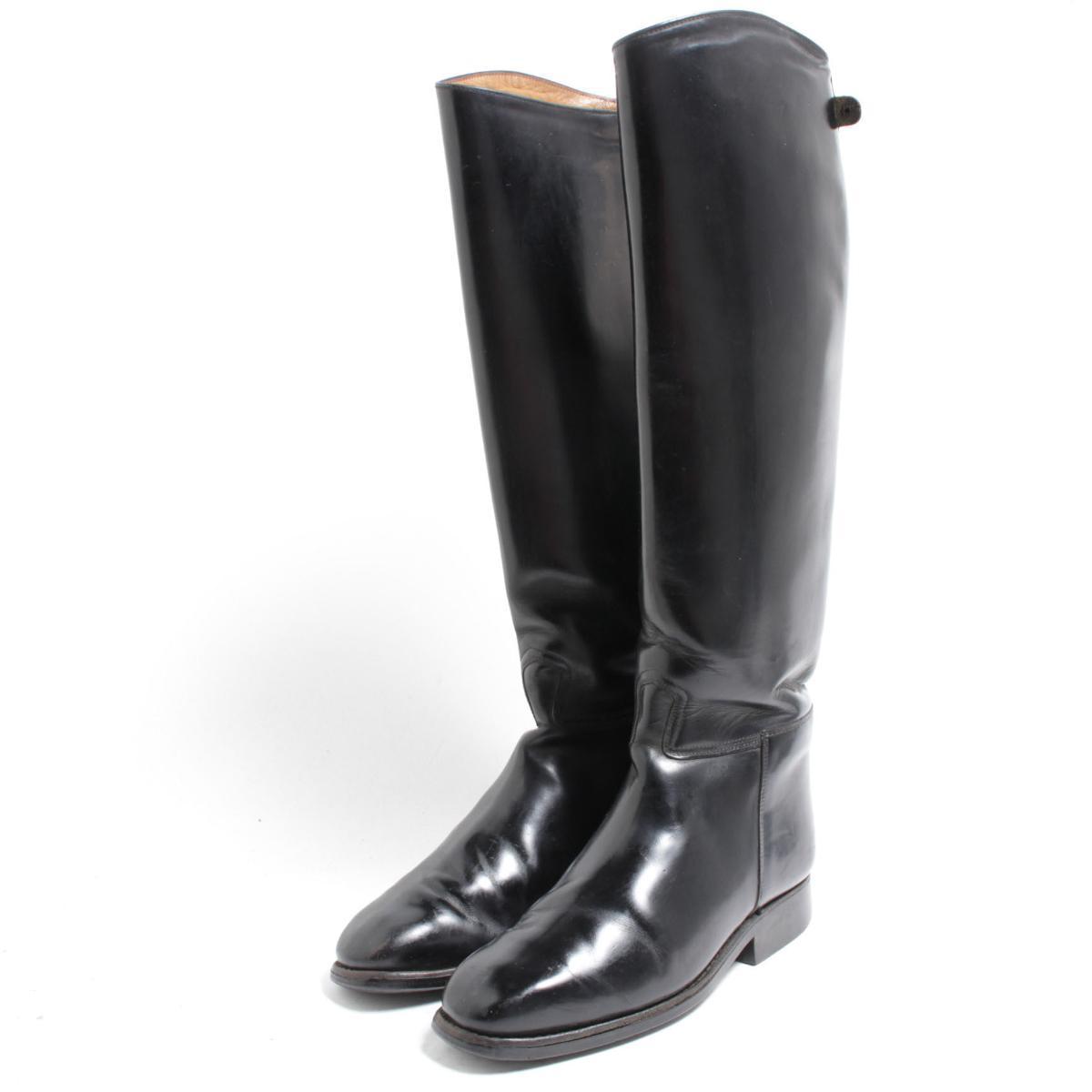 カバロ Cavallo ジョッキー乗馬ブーツ 4.5 レディース22.5cm /bom6789 【中古】 【180701】