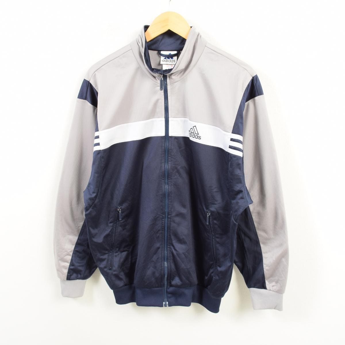 3d7be0d2a23f VINTAGE CLOTHING JAM  90s Adidas adidas jersey truck jacket men L ...