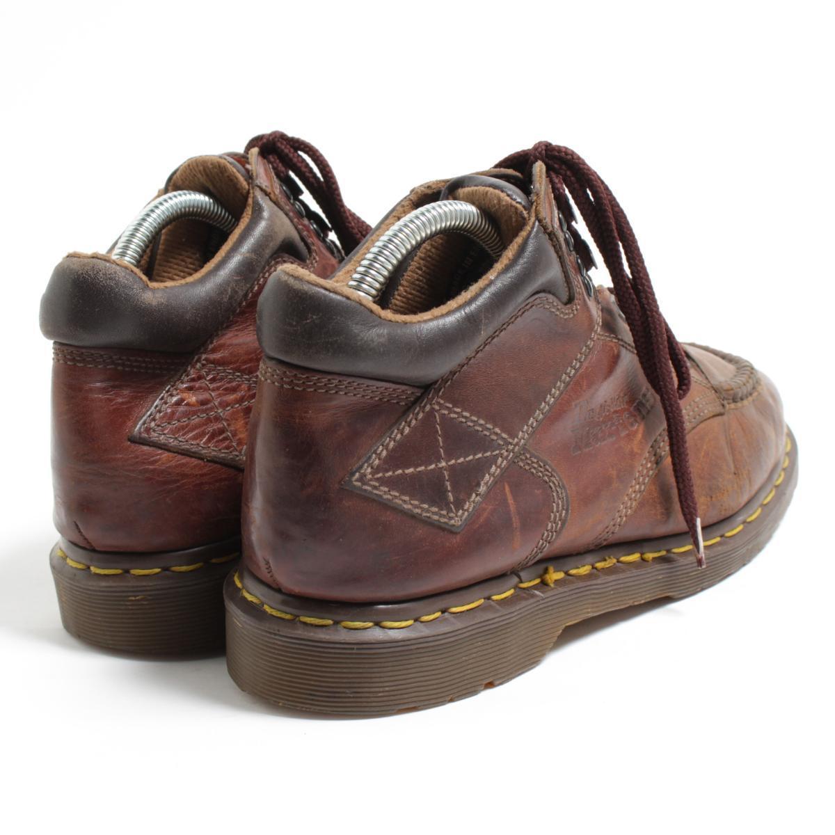 UK8 men 26.5cm /bom6824 made in the doctor Martin Dr.Martens 8060 moccasins boots U.K.