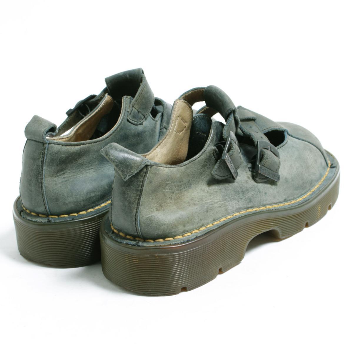 UK5 Lady's 23.5cm /bom6715 made in the doctor Martin Dr.Martens strap shoes U.K.