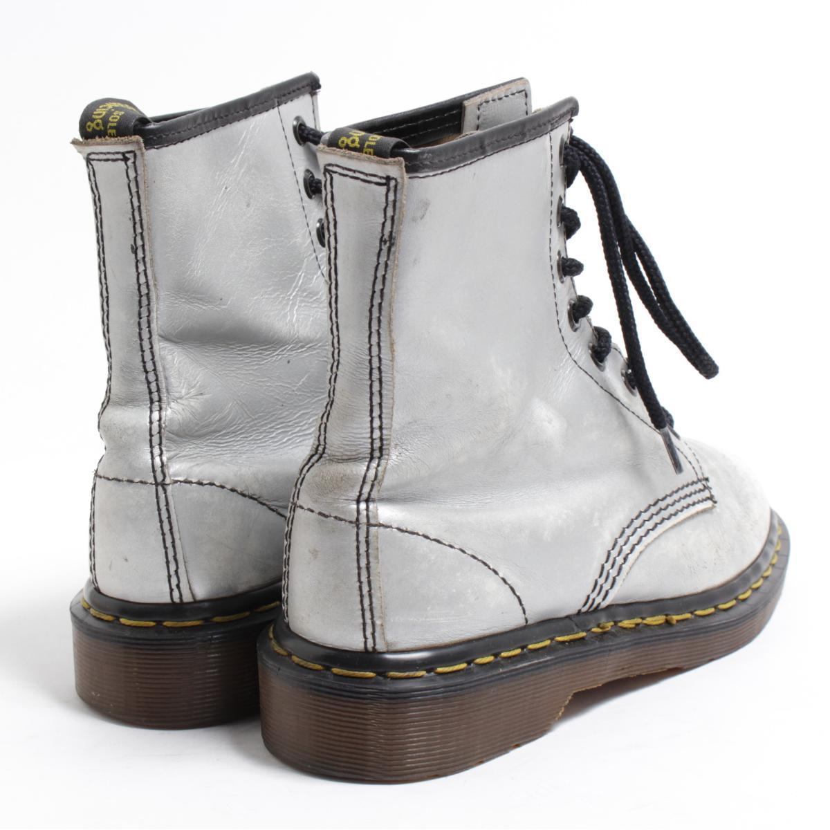 UK4 Lady's 22.5cm /bom6452 made in the doctor Martin Dr.Martens 8 hall boots U.K.