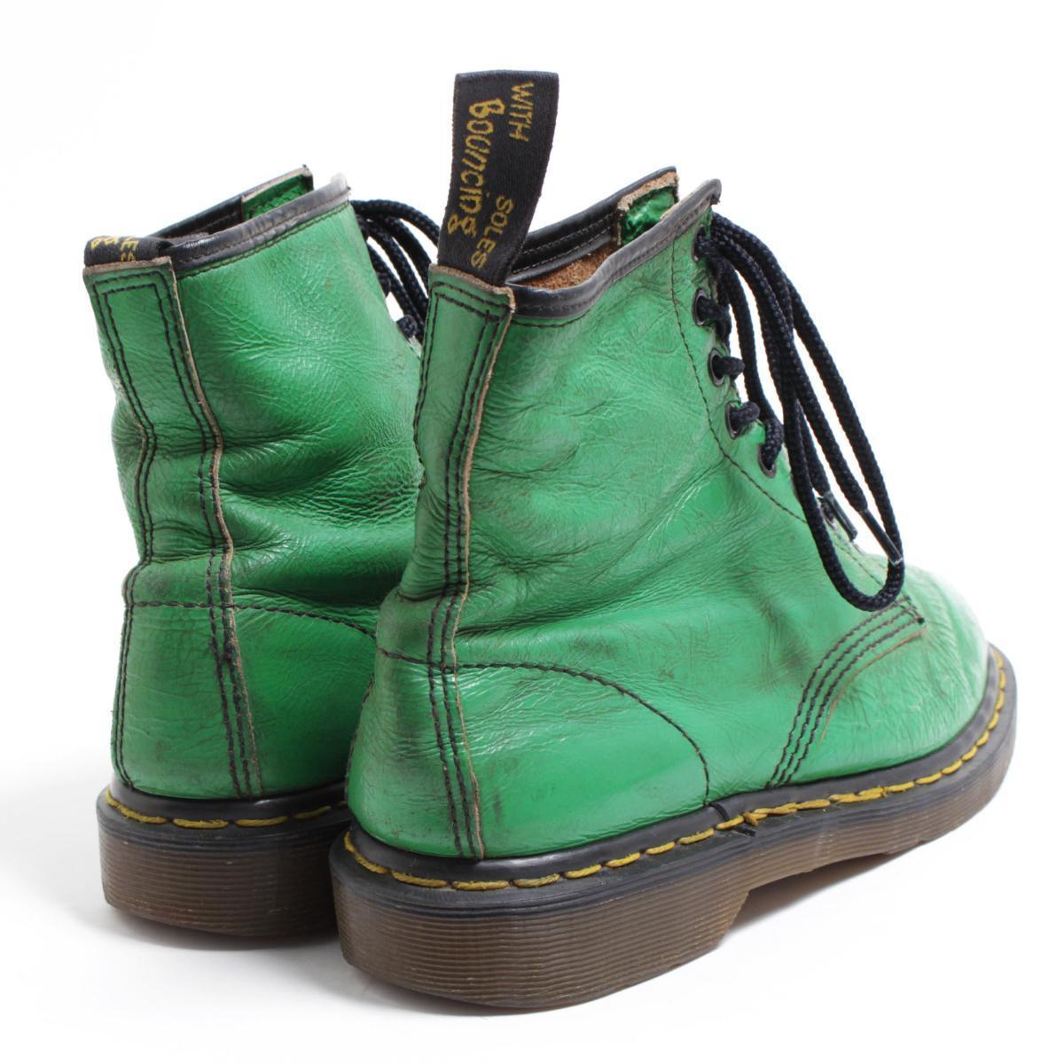 UK7 men 25.5cm /bom6467 made in the doctor Martin Dr.Martens 8 hall boots U.K.