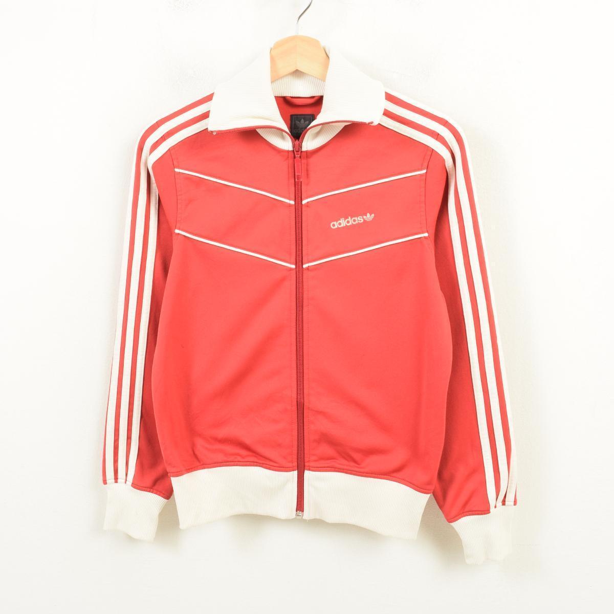 46f0d4455 Adidas adidas ORIGINALS originals jersey truck jacket Lady's L /wav4322