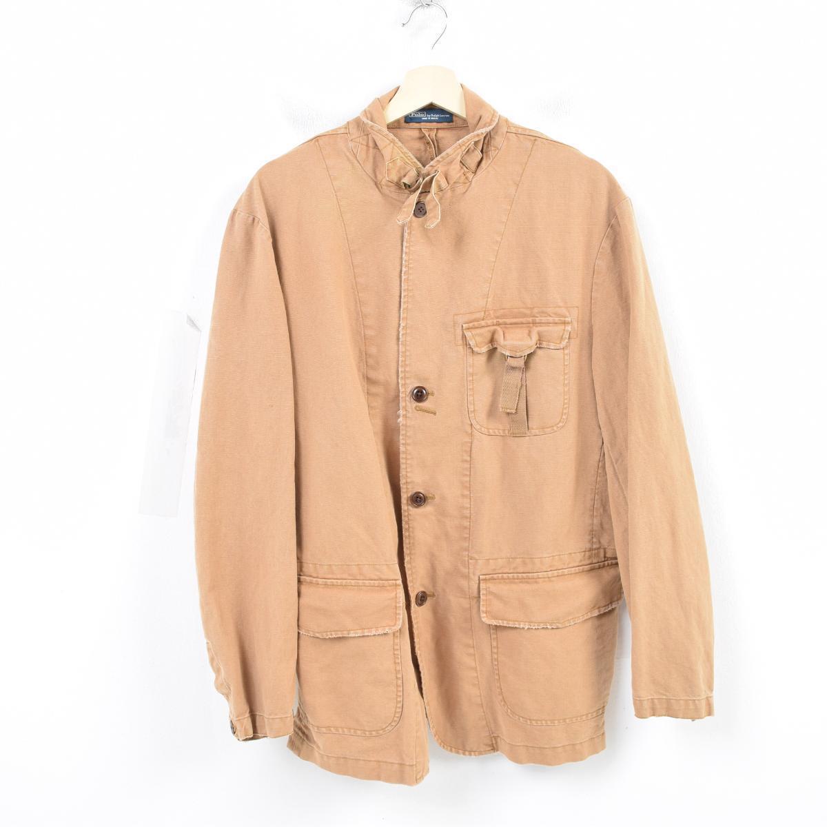 e3767050d Ralph Lauren Ralph Lauren POLO by Ralph Lauren cotton linen jacket safari  jacket men L ...