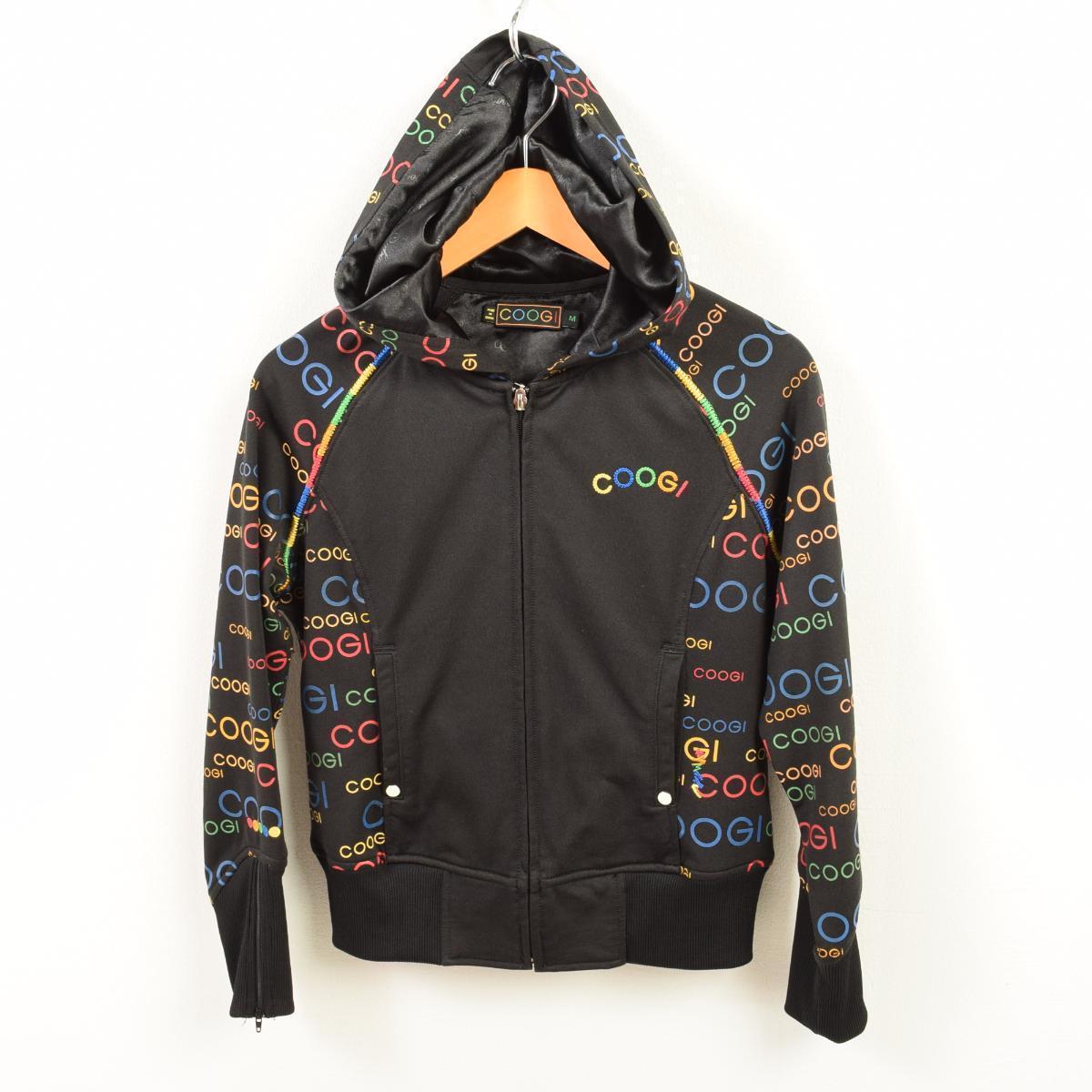 VINTAGE CLOTHING JAM: Cousy COOGI jersey parka Lady\'s M /wau4905 ...