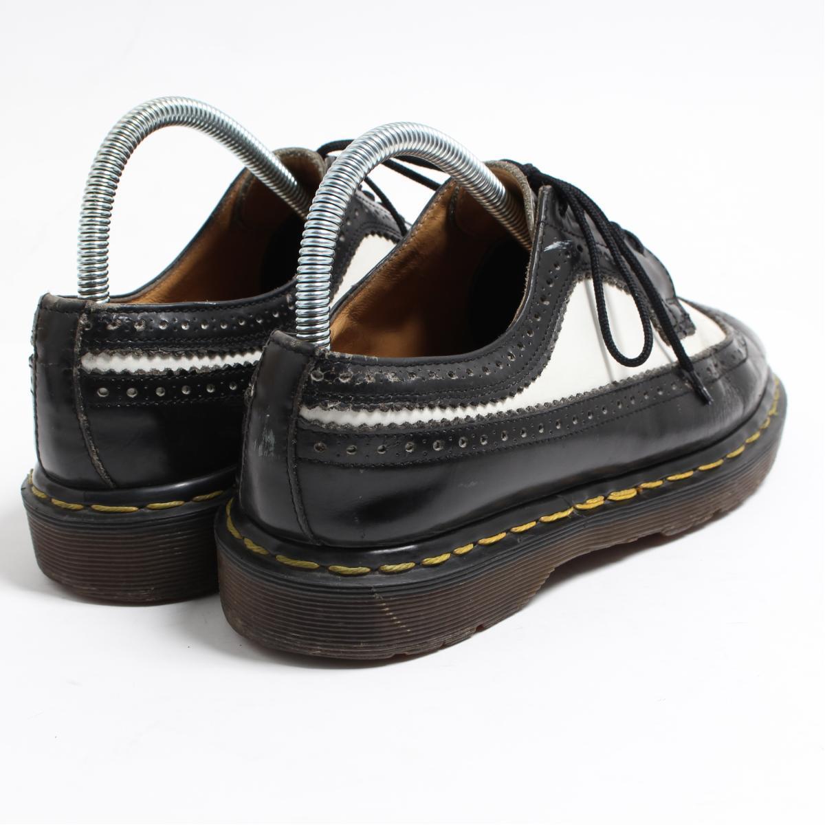 UK7 men 25.5cm /boo3503 made in the doctor Martin Dr.Martens wing tip shoes U.K.