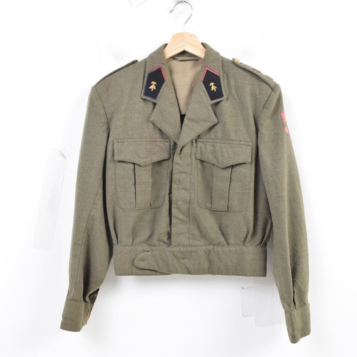 2a92fba29 60s Belgium military true article Ike jacket military wool jacket men S  vintage /wau0821 ...