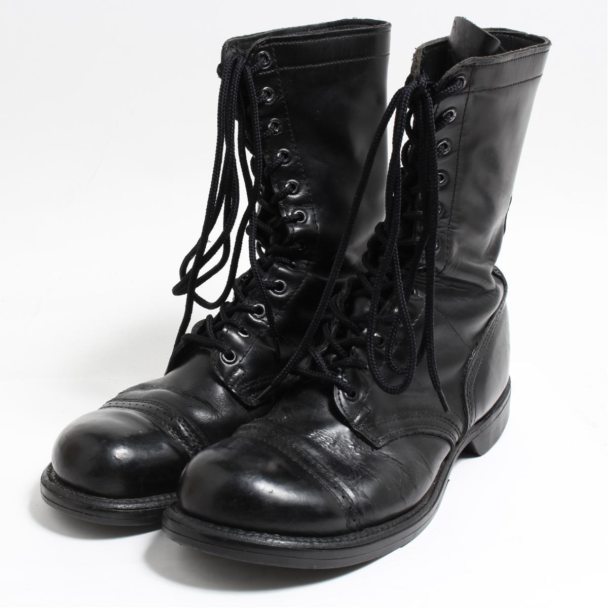 2f2d999062017 10.5E men 28.5cm /boo3631 in the 60s made in ~ Corcoran CORCORAN military  parachute boots USA
