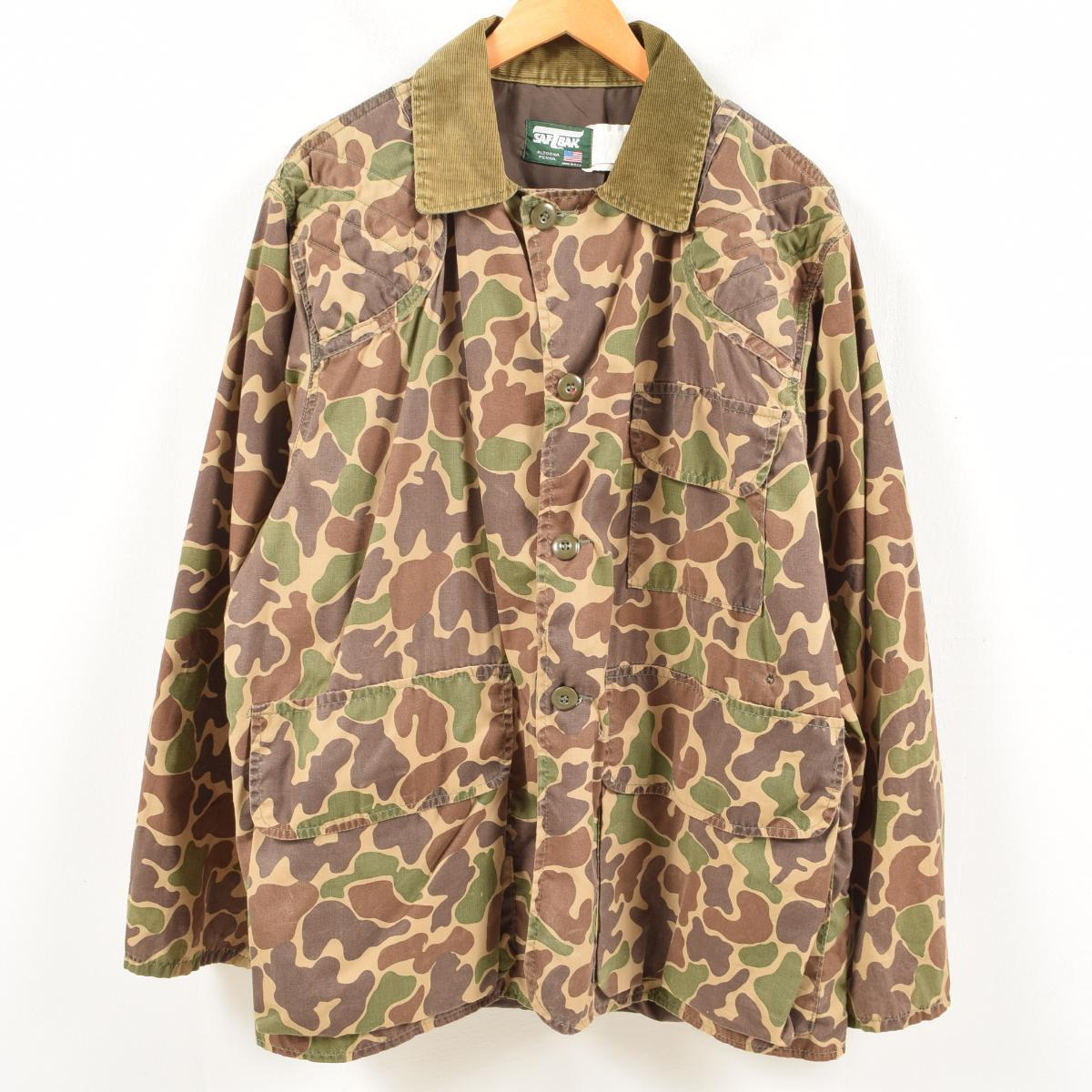 984b1f2b6310c Men XL vintage /wal1438 in the 80s made in SAFTBAK duck hunter duck  camouflage hunting ...