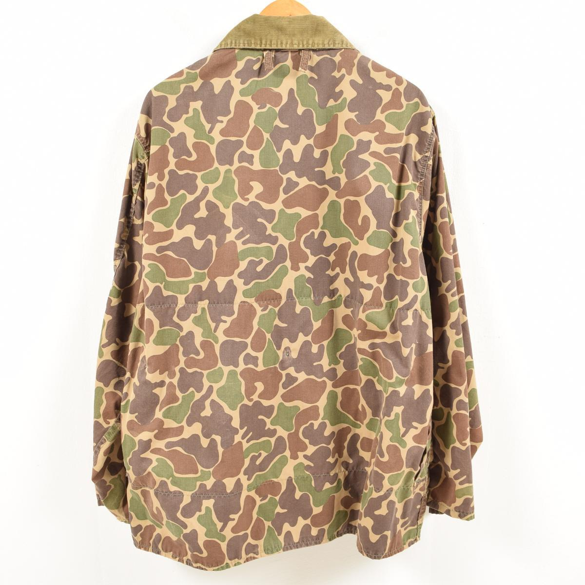 7b736dc19699f ... Men XL vintage /wal1438 in the 80s made in SAFTBAK duck hunter duck  camouflage hunting ...