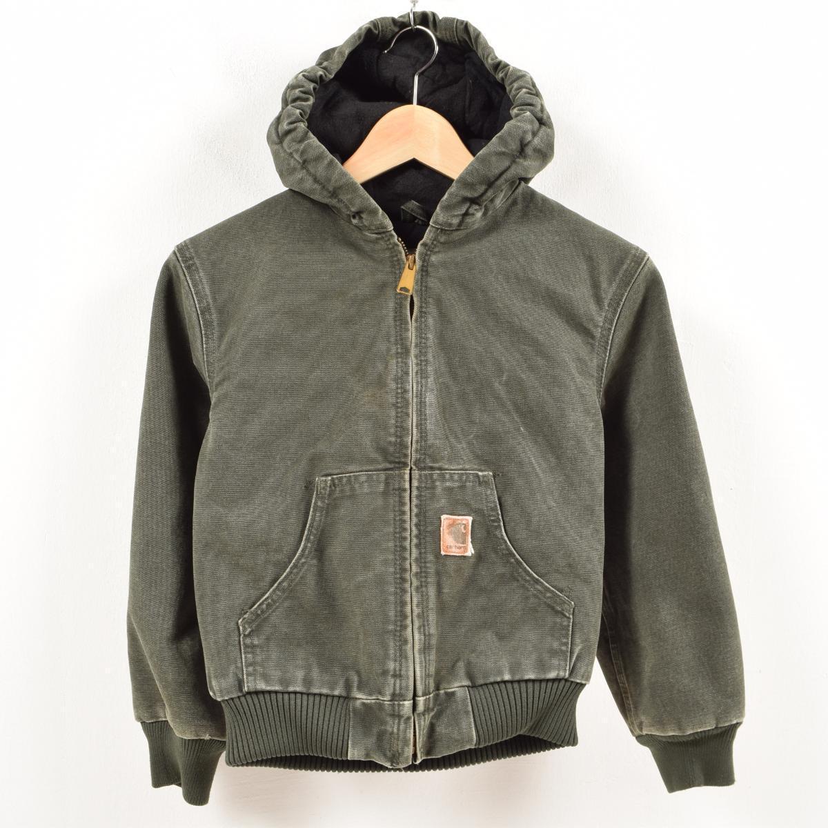 7487b092ab837 Car heart Carhartt active jacket duck place full zip parka boy 130cm  /wal1380 ...