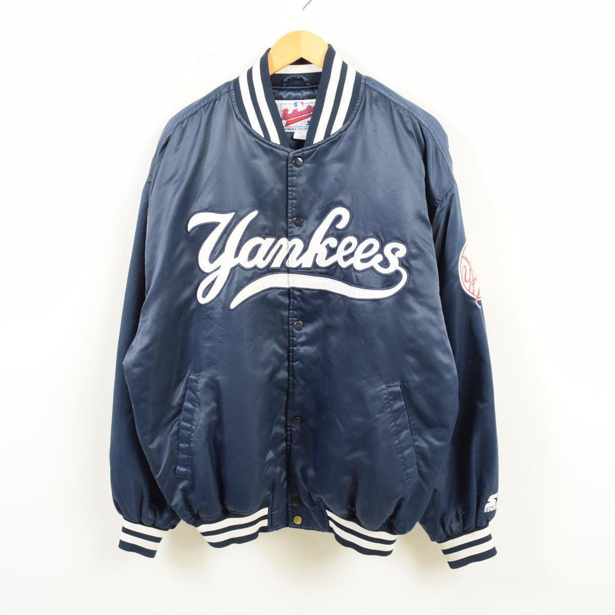 121b8bd940a Starter Starter Diamond COLLECTION MLB NY YANKEES New York Yankees nylon  award jacket Award jacket men ...