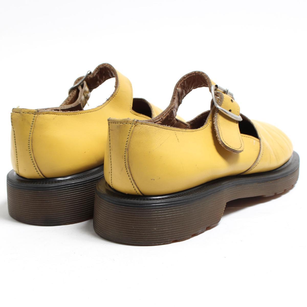 UK4 Lady's 22.5cm /bon7788 made in the doctor Martin Dr.Martens strap shoes U.K.