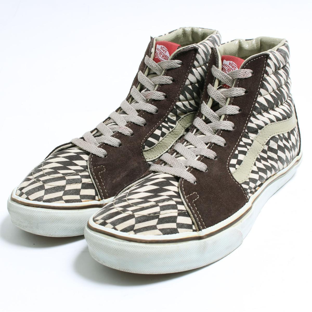 VINTAGE CLOTHING JAM  Vans VANS SK8-HI high-top sneakers US10 men ... d20bede22