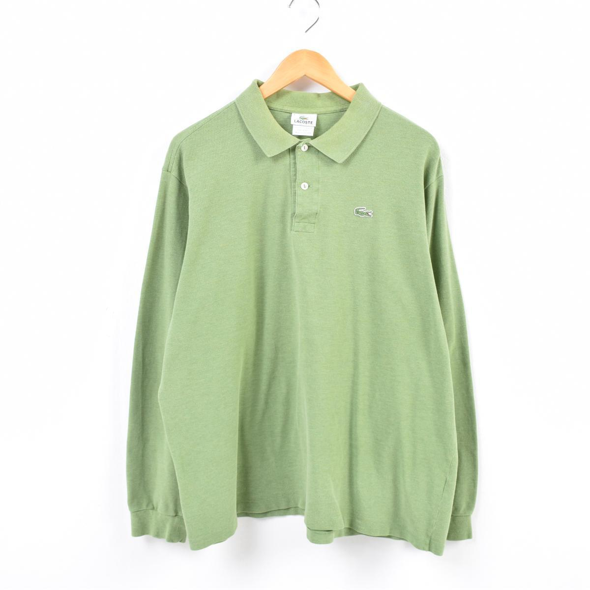 2d09e26626c811 ... coupon for lacoste lacoste france plan long sleeves polo shirt men m  was8057 b97bc 41b7d
