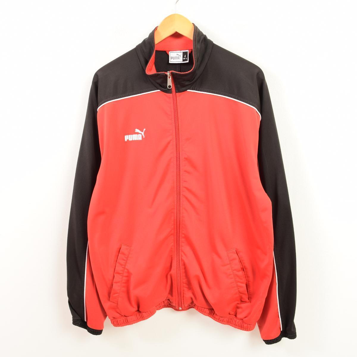 4542ca6663b8 VINTAGE CLOTHING JAM  Puma PUMA jersey truck jacket men XL  wat1283 ...