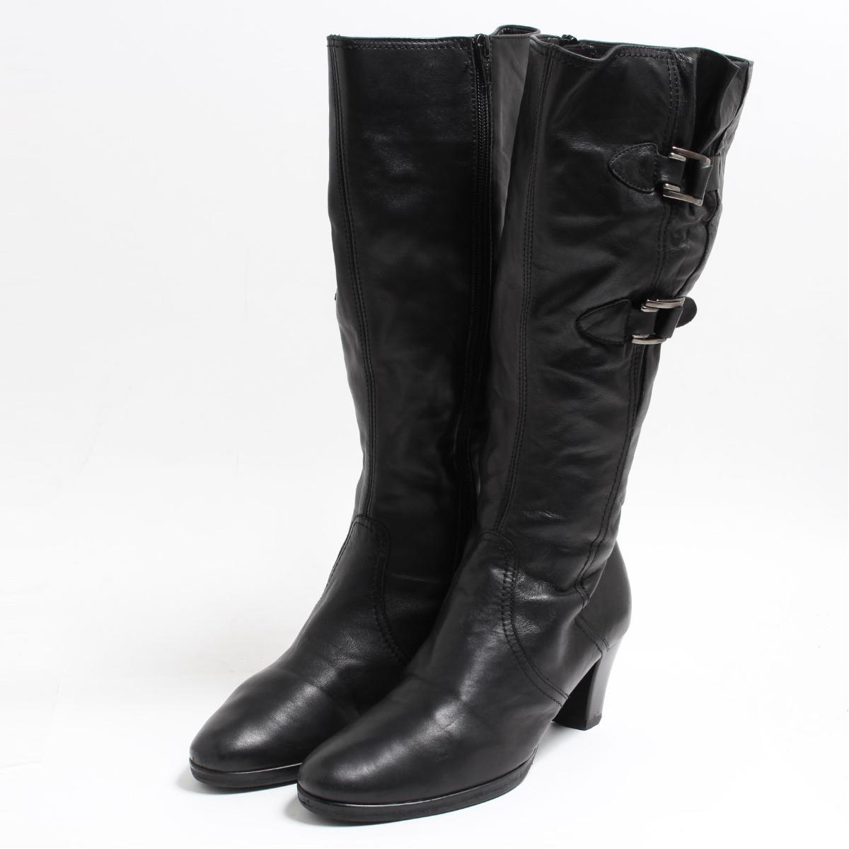 b85cacdf9c61a VINTAGE CLOTHING JAM: GABOR side zip long boots 4.5 Lady's 22.5cm ...