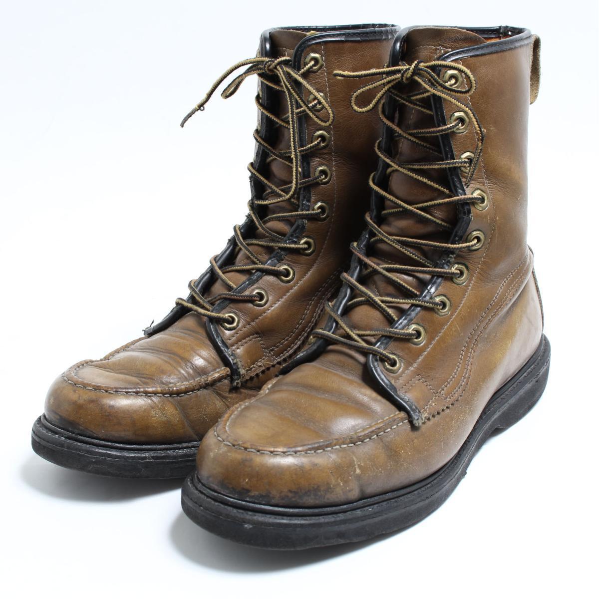 4afaba09d84 50~60 generation Sears Sears work boots 9.5D men 27.5cm vintage /bon7678