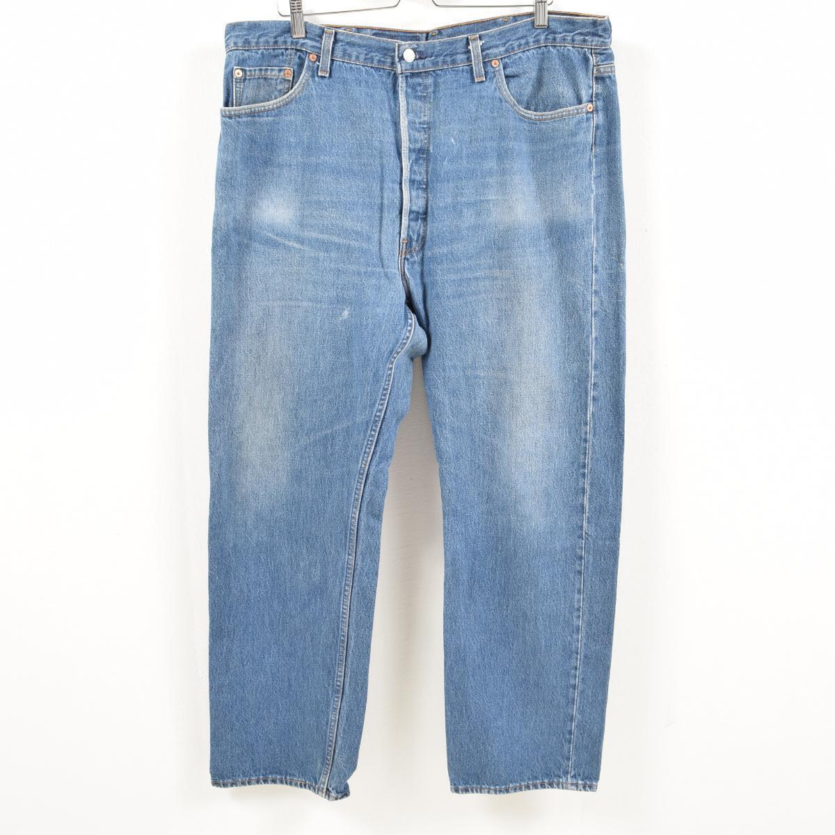 0c6fd00c0c9 Men w41 /wax2602 in the big size 90s made in Levis Levi's 501 jeans  straight ...