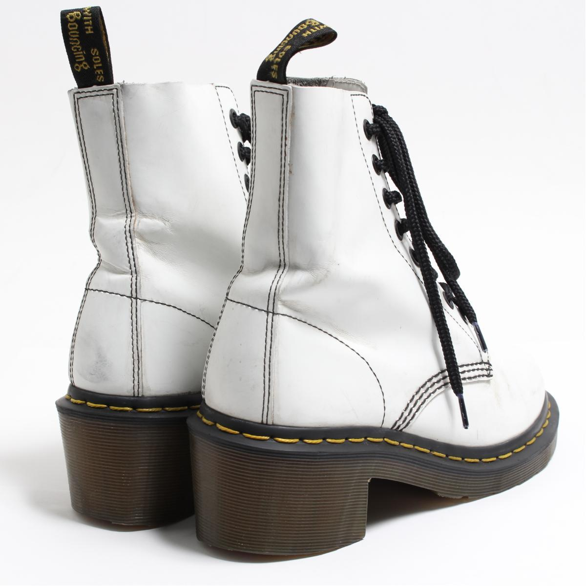 0b0857fe444 Doctor Martin Dr.Martens CLEMENCY high-heeled shoes 8 hall boots UK4 Lady s  22.5cm  bon7075