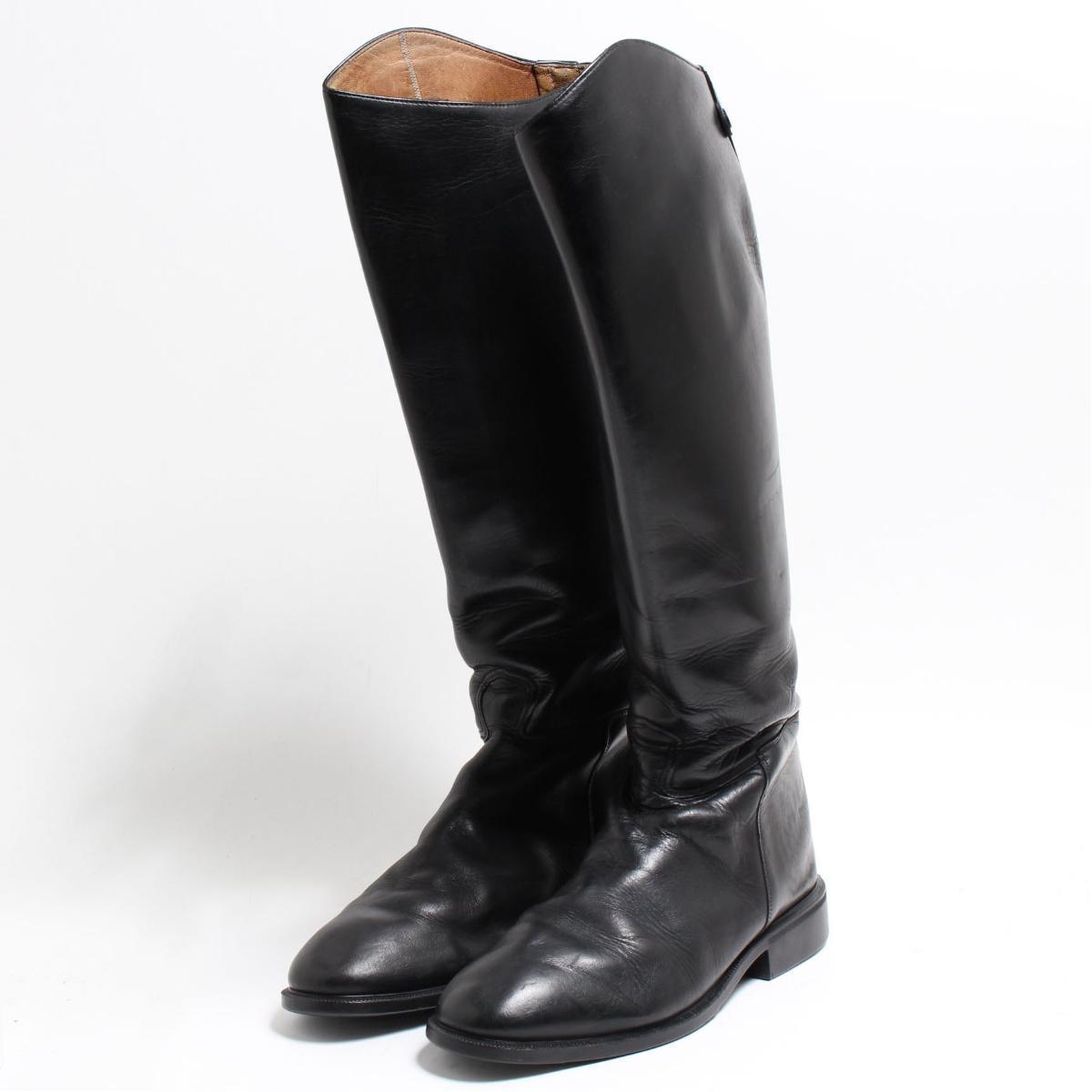 カバロ Cavallo ジョッキー乗馬ブーツ 6.5 レディース24.0cm /bon6777 【中古】 【180906】